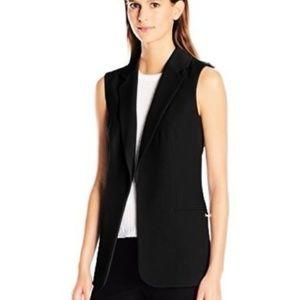 Calvin Klein Women's Soft Suiting Vest - Black